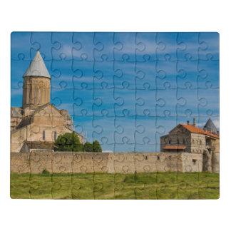 Puzzle Extérieur antique de monastère
