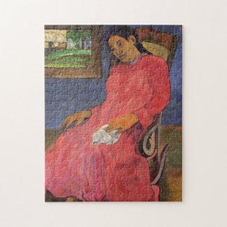 """Puzzle """"Faaturuma (mélancolie)"""" - Paul Gauguin"""
