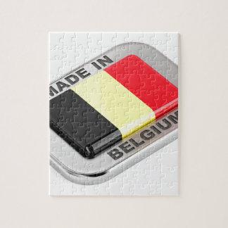 Puzzle Fabriqué en Belgique