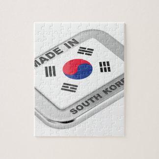 Puzzle Fabriqué en Corée du Sud