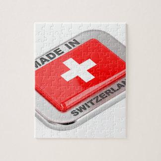 Puzzle Fabriqué en Suisse