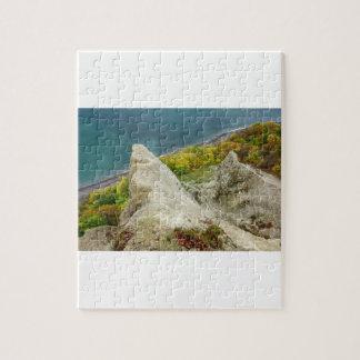 Puzzle Falaises de craie sur l'île Ruegen
