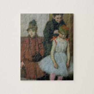 Puzzle Femme d'Edgar Degas | avec deux petites filles
