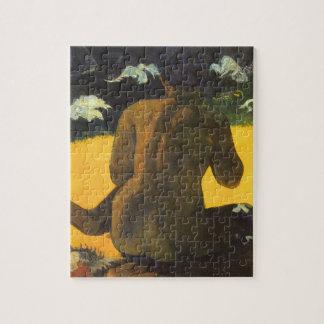 Puzzle Femme par la mer par Paul Gauguin, beaux-arts