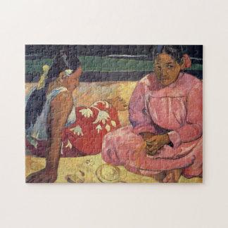 Puzzle Femmes de Tahitian sur la plage - Paul Gauguin