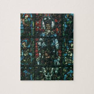 Puzzle Fenêtre en verre teinté religieuse vintage