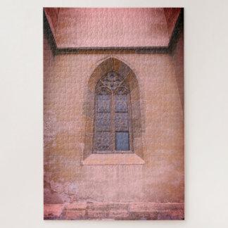 Puzzle Fenêtre médiévale d'église