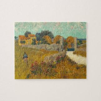 Puzzle Ferme de Vincent van Gogh | en Provence, 1888