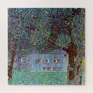 Puzzle Ferme en Autriche par Klimt, beaux-arts victoriens
