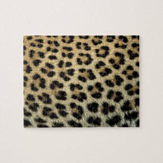 Puzzle Fermez-vous des taches de léopard, Afrique