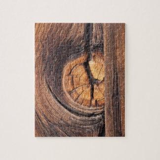 Puzzle Fermez-vous d'un noeud en bois, la Californie