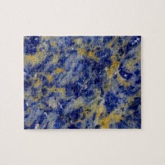 Puzzle Fermez-vous d'un Sodalite bleu