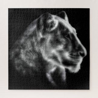 Puzzle féroce de lionne