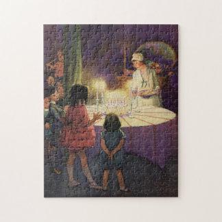 Puzzle Fête d'anniversaire vintage