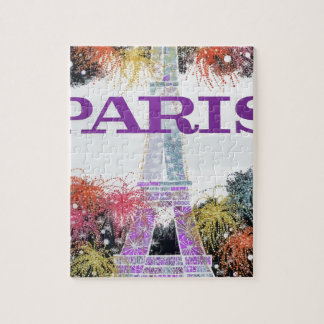 Puzzle Feux d'artifice de Paris