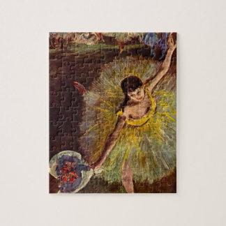 Puzzle Fin d'un arabesque par Edgar Degas, ballet vintage