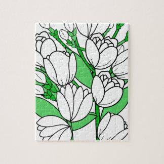 Puzzle Fleur de jasmin