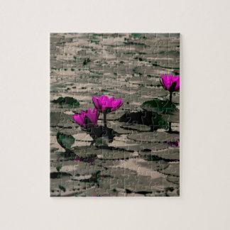 Puzzle Fleur de Lotus