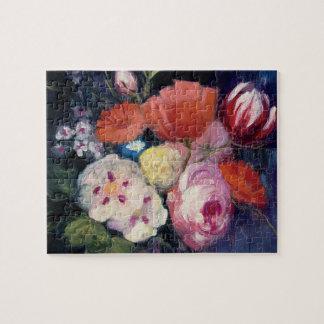 Puzzle Fleur fraîche de ressort de coupe