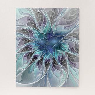 Puzzle Fleur moderne abstraite de fractale de Flourish