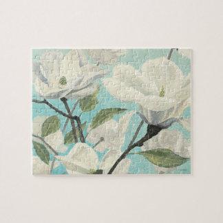 Puzzle Fleurs blanches des sud