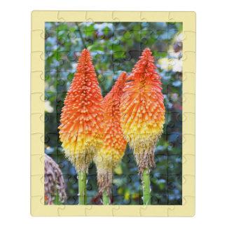Puzzle Fleurs chaudes de tisonnier