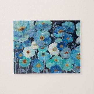 Puzzle Fleurs d'indigo