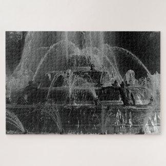 Puzzle Fontaine vintage de Latona de palais de la France