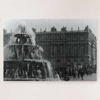 Puzzle Fontaine vintage de pyramide de Versailles de