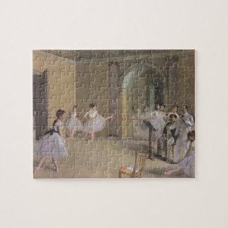 Puzzle Foyer de danse à l'opéra par Edgar Degas