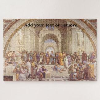 """Puzzle Fresque """"école de la Renaissance d'Athènes"""" par"""