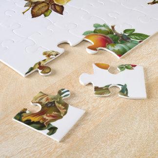 Puzzle Fruits vintages et fleurs