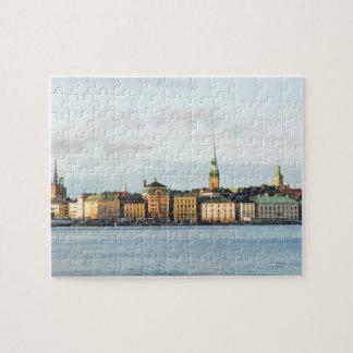 Puzzle Gamla Stan à Stockholm, Suède