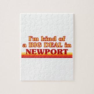 Puzzle Genre d'I´m d'affaire à Newport