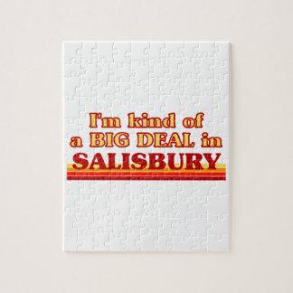 Puzzle Genre d'I´m d'affaire à Salisbury