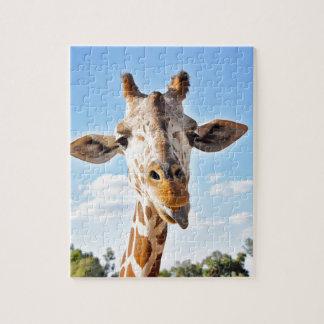 Puzzle Girafe idiote