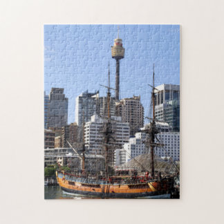 Puzzle grand de bateau