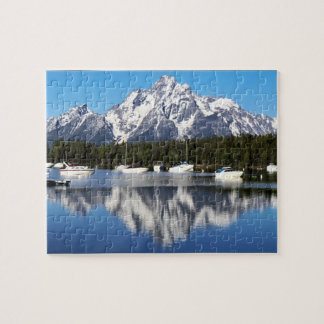 Puzzle grand de parc national de Teton