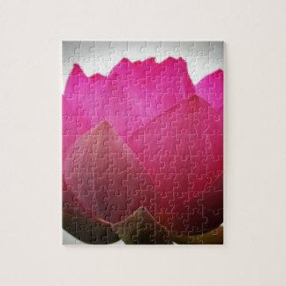 Puzzle Grand lotus rose