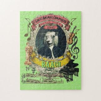Puzzle Grande parodie animale de Bach de compositeur de