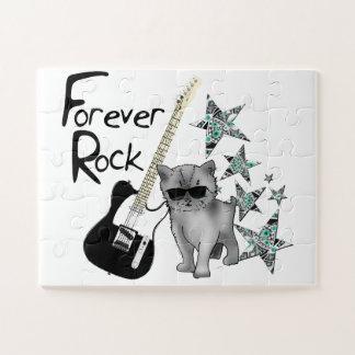 """Puzzle grandes pièces """"Forever rock"""""""