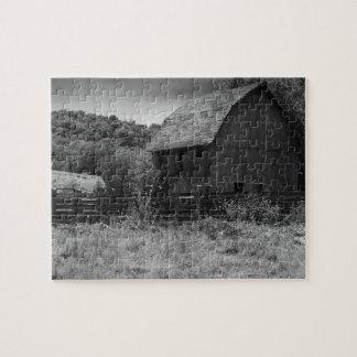 Puzzle Grange mystique rustique