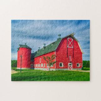 Puzzle Grange rouge de l'Indiana