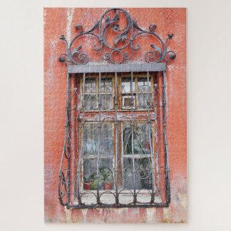Puzzle Grilles vintages de fenêtre