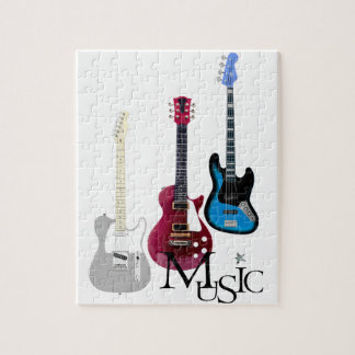 """Puzzle """"Guitares et Music"""""""
