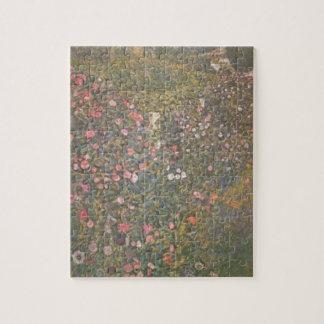 Puzzle Gustav Klimt - paysage horticole italien