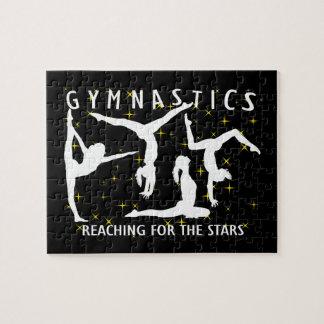 Puzzle Gymnastique atteignant pour les étoiles