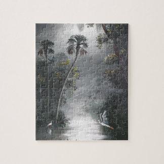 Puzzle Héron brumeux de rivière de la Floride