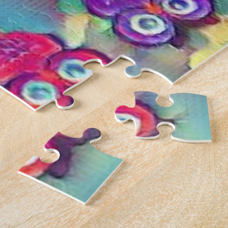 Puzzle Hiboux en couleurs