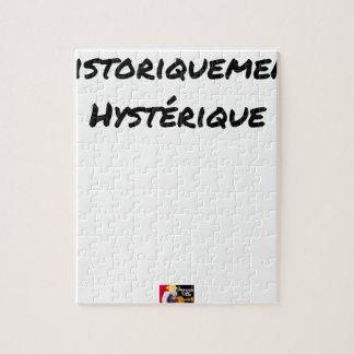 Puzzle HISTORIQUEMENT HYSTÉRIQUE - Jeux de mots